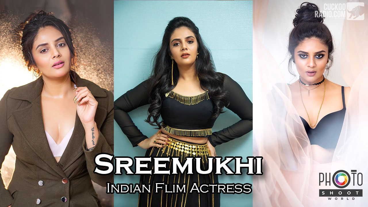 Actress Sreemukhi Image Collections