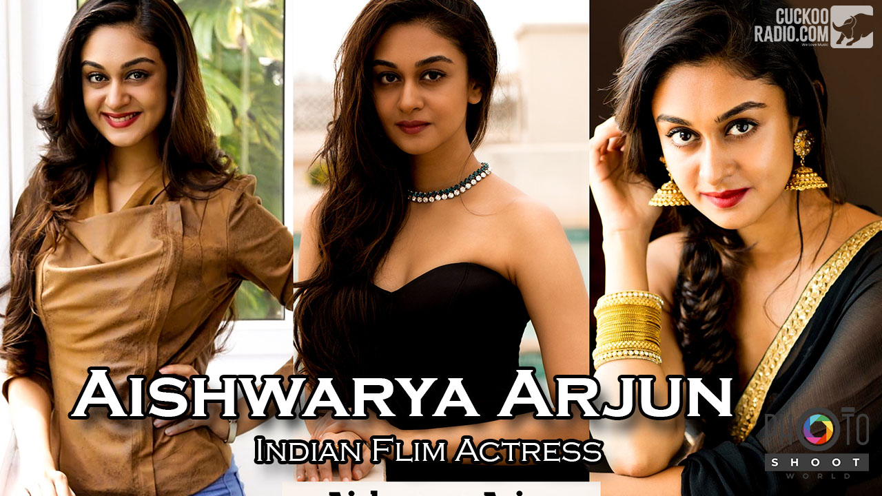 Actress Aishwarya Arjun Image Collections