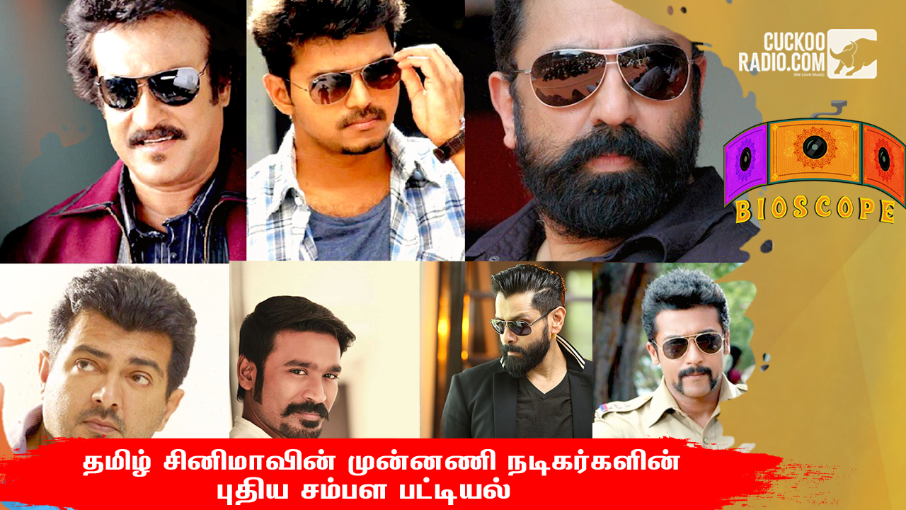 heros new salary,Tamil Actors
