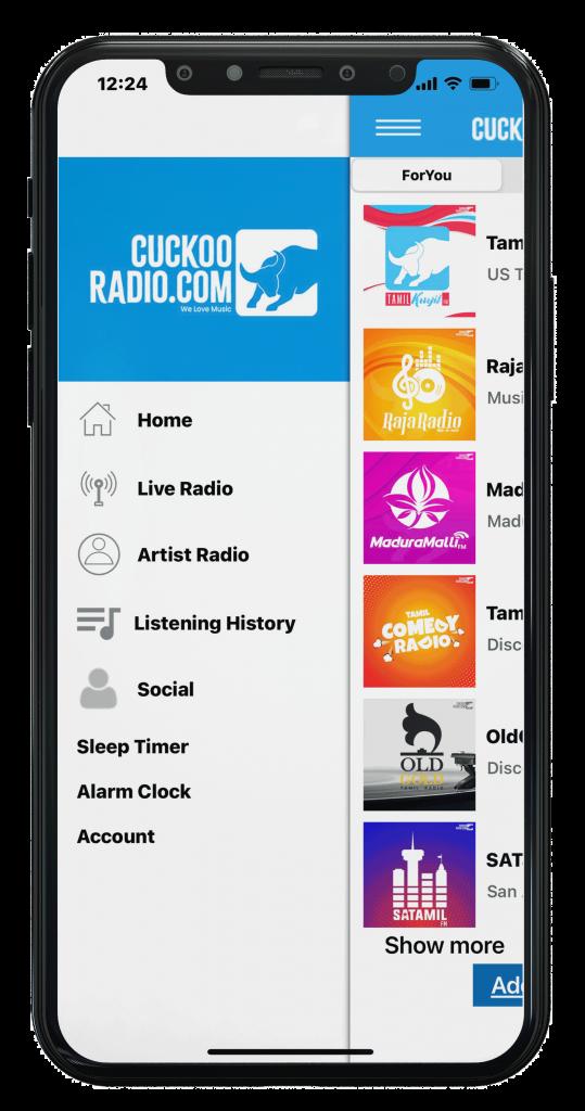 Tamil Kuyil Radio mobile app